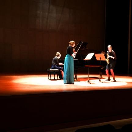 Maxime Snaterse, Elisa Karen Tavenier & Deborah Witteveen, Griekenland, Megaron Concert Hall Thessaloniki, 3 December 2015
